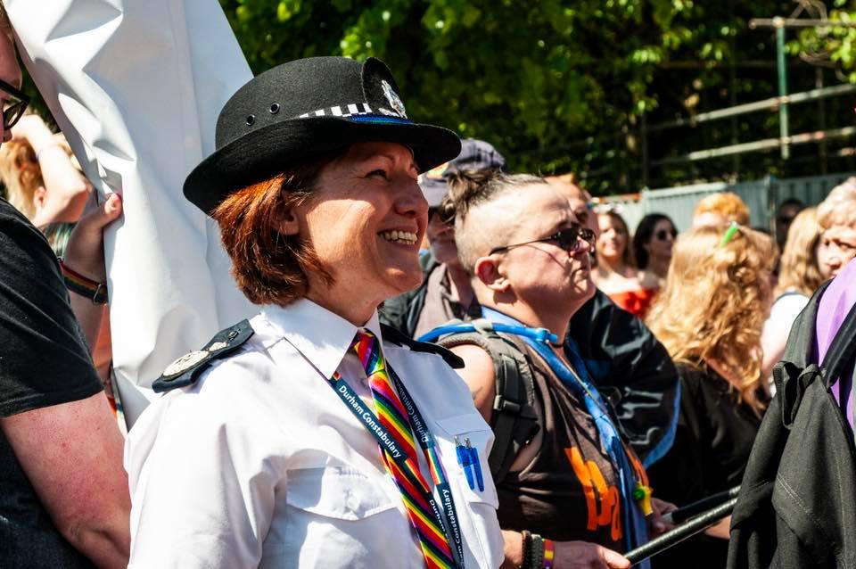 Jo Farrell at Pride